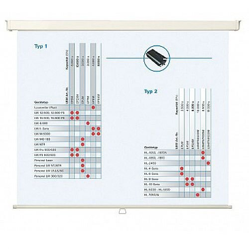 Franken ECO W1500 x H1500mm Roll-Up Projection Screen