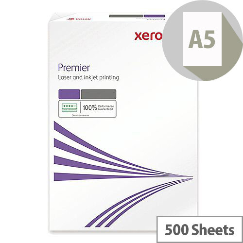 Xerox A5 80gsm White Premier Paper Ream of 500 Sheets