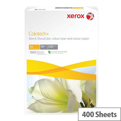 A4 White Xerox Colotech+ Gloss Coated Photo Paper 140gsm (Pack of 400)