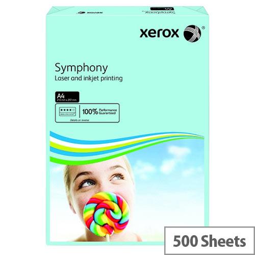 Xerox Symphony Medium Tints Mid Blue A4 Paper Ream 80gsm Pack of 500