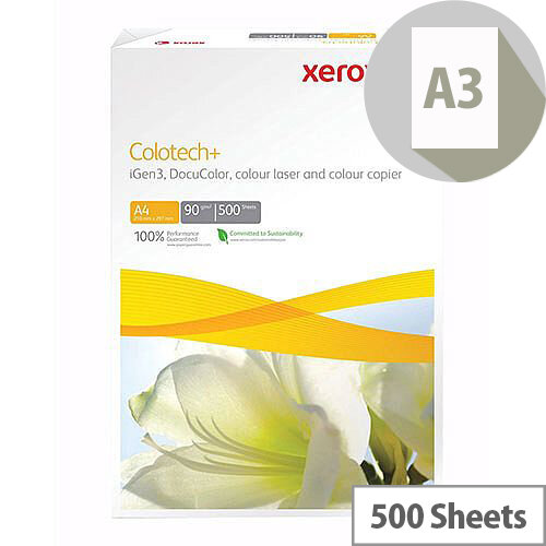 Xerox Colotech A3 120g Ream of 500 Sheets 003R97959