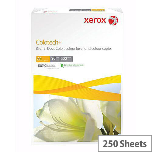 A4 White Xerox Colotech+ Paper Card 220gsm (Pack of 250)