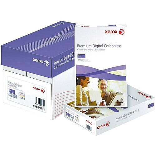 Xerox Premium White/Yellow/Pink 3-Part Carbonless Paper Pack of 500