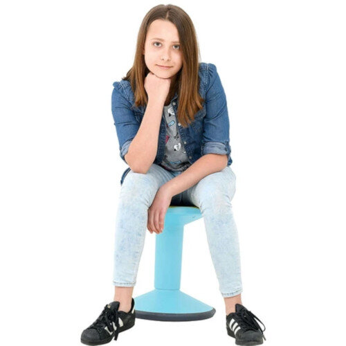 Kite Height Height Adjustable Motion Stool Light Blue 40-55CM