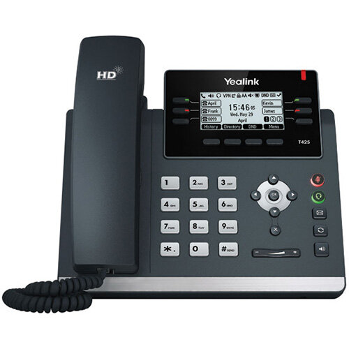 Yealink IP Phone T42S Skpe for Business Edition T42SSFB
