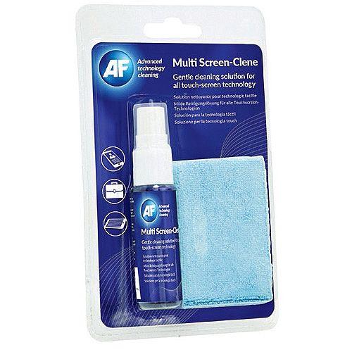 AF Multi Clene Travel Kit Pump Spray Liquid AXMCA25MF