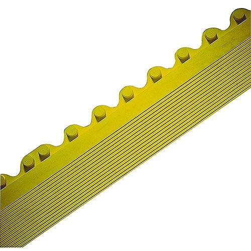 All-Purpose Anti-Fatigue Modular Mat Male Bevel Yellow 312411