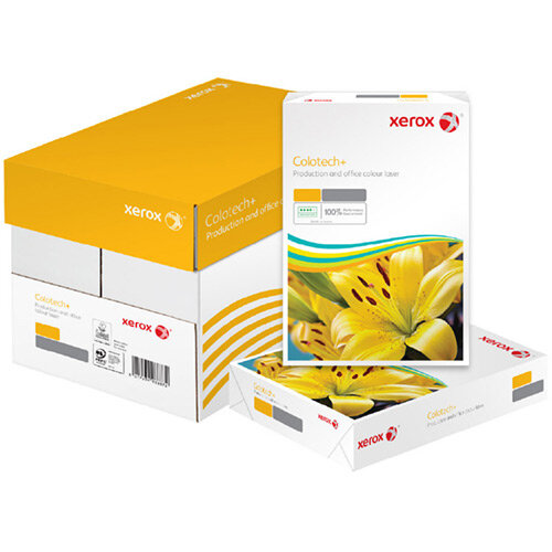 Xerox Colotech+ SRA2 450x640mm Pefc 100gsm Untrimmed Commercial Printing Paper Lg Ream of 500 003r98846