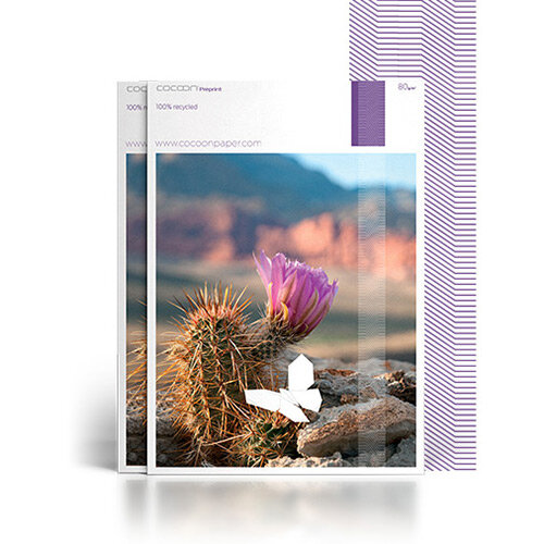 Cocoon Pre-Print 100% Recycled Fsc8 SRA2 450 X 640mm 120gsm Untrimmed Commercial Printing Paper Pack of 14000