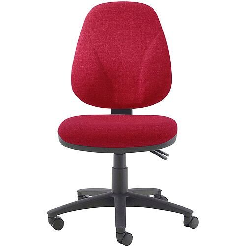 Arista Concept Maxi High Back Asynchro Tilt Task Operator Office Chair Claret KF03466