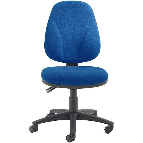 Arista Concept High Back Permanent Contact Task Operator Office Chair Blue KF03456