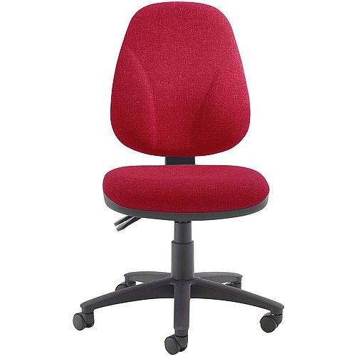 Arista Concept High Back Permanent Contact Task Operator Office Chair Claret KF03458