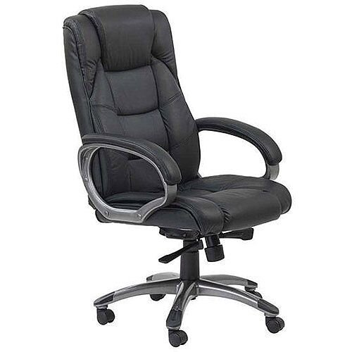 Arista Valencia Executive Leather Office Chair Black KF03437