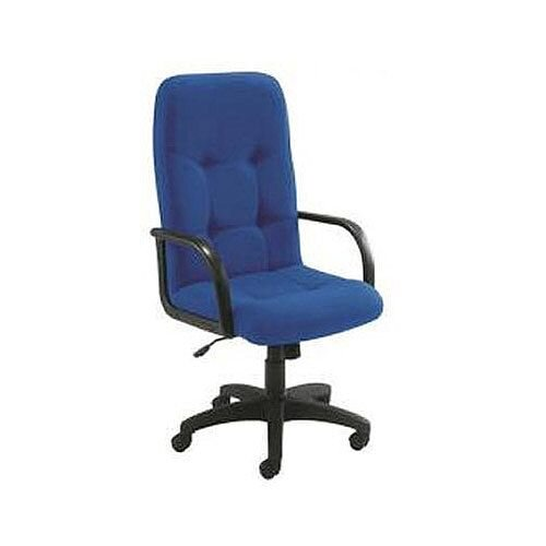 Arista High Back Managers Office Chair Royal Blue