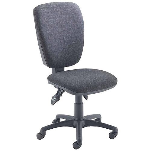 Arista Deluxe High Back Task Operator Office Chair Charcoal 09OP07