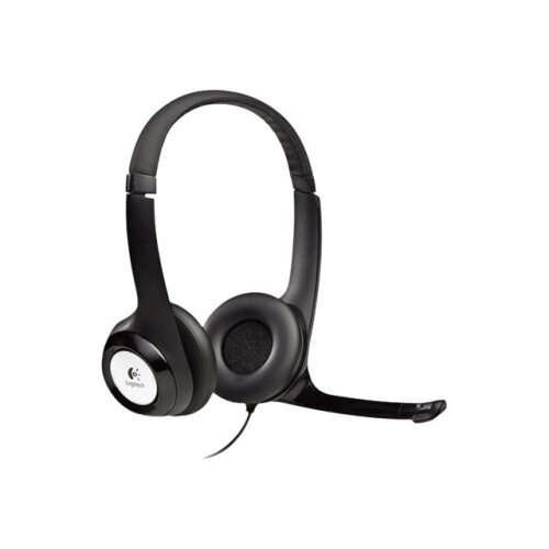 Logitech USB Headset H390 - Headset - full size - wired