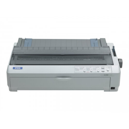 Epson LQ 2090 - Printer - monochrome - dot-matrix - A3 - 24 pin - up to 529 char/sec - parallel, USB