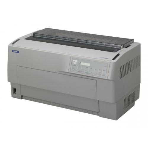 Epson DFX 9000N - Printer - monochrome - dot-matrix - 419.1 mm (width) - 240 x 144 dpi - 9 pin - up to 1550 char/sec - parallel, USB, LAN, serial