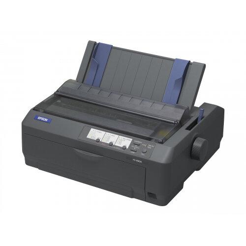 Epson FX 890A - Printer - monochrome - dot-matrix - 9 pin - up to 680 char/sec - parallel, USB