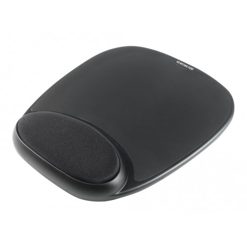 Kensington Gel Mouse Rest - Mouse pad with wrist pillow - black