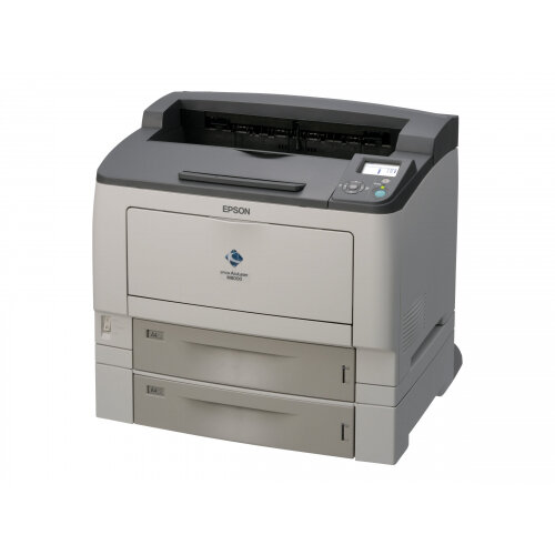 Epson AcuLaser M8000DTN - Printer - monochrome - Duplex - laser - A3 - 1200 dpi - up to 44 ppm - capacity: 1150 sheets - parallel, USB, LAN
