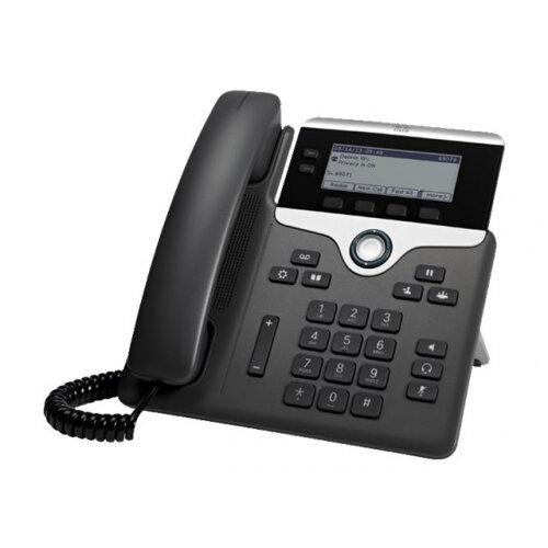 Cisco IP Phone 7821 - VoIP phone - SIP, SRTP - 2 lines