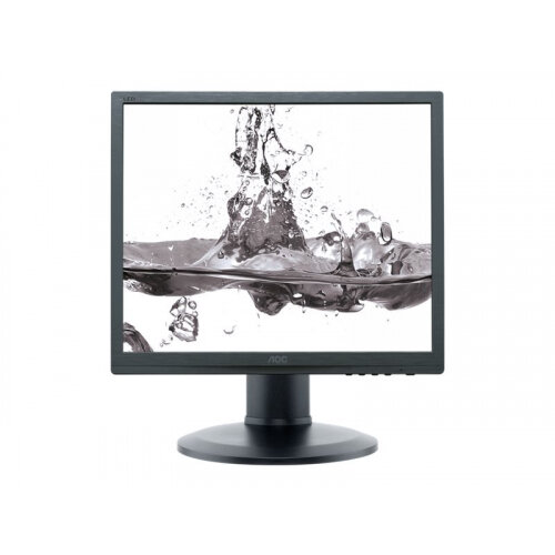 "AOC Pro-line I960PRDA - LED Computer Monitor - 19"" (19"" viewable) - 1280 x 1024 - IPS - 250 cd/m² - 1000:1 - 14 ms - DVI-D, VGA - speakers - black"