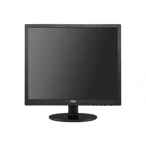 "AOC Pro-line I960SRDA - LED Computer Monitor - 19"" (19"" viewable) - 1280 x 1024 - IPS - 250 cd/m² - 1000:1 - 14 ms - DVI, VGA - speakers - black"