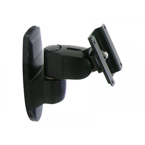 "Ergotron 200 Series Wall Mount Pivot - Mounting kit (wall plate, pivot) for Monitor - black - screen size: up to 24"" - wall-mountable"