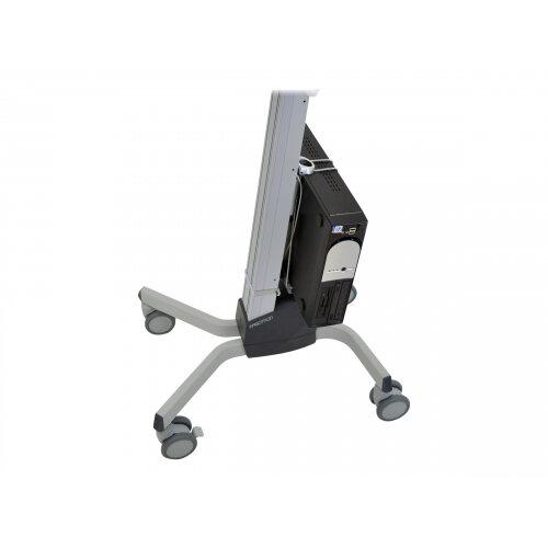 Ergotron CPU Holder Universal - System unit holder - for P/N: 45-353-026, 45-354-026