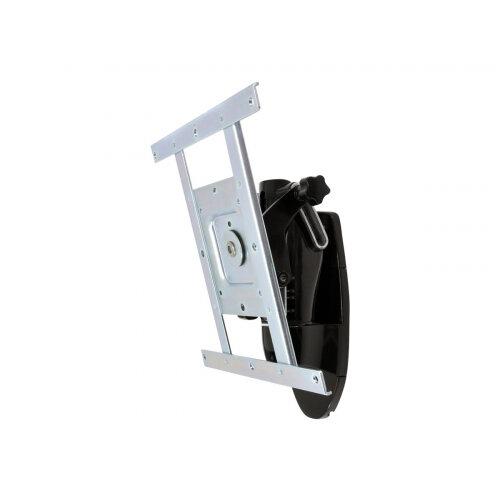 "Ergotron LX HD Wall Mount Pivot - Mounting kit (pivot, knob) for TV - black - screen size: up to 42"" - wall-mountable"