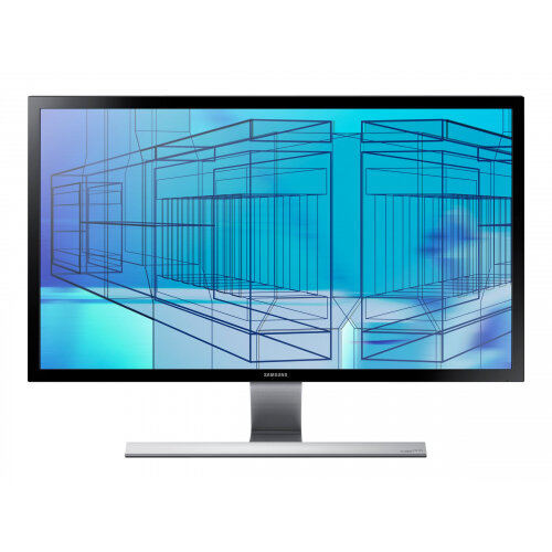 "Samsung UD590 Series U28E590D - LED Computer Monitor - 28"" - 3840 x 2160 4K UHD (2160p) - TN - 370 cd/m² - 1 ms - 2xHDMI, DisplayPort - black, shiny"