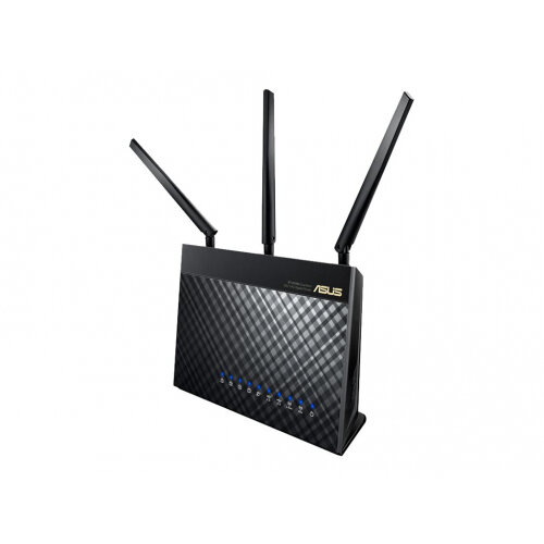 ASUS RT-AC68U - Wireless router - 4-port switch - GigE - 802.11a/b/g/n/ac - Dual Band