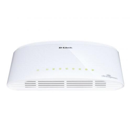 D-Link DGS 1008D - Switch - 8 x 10/100/1000 - desktop