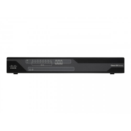 Cisco 891F - Router - ISDN/Mdm - 8-port switch - GigE - rack-mountable