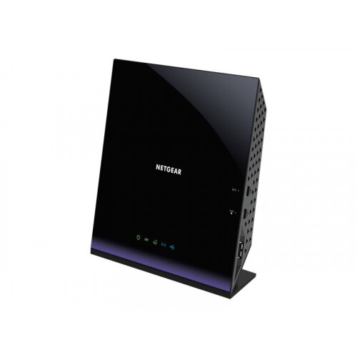 NETGEAR D6400 - Wireless router - DSL modem - 4-port switch - GigE - WAN ports: 2 - 802.11a/b/g/n/ac - Dual Band