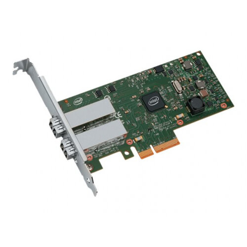Intel Ethernet Server Adapter I350-F2 - Network adapter - PCIe 2.1 x4 low profile - 1000Base-SX x 2