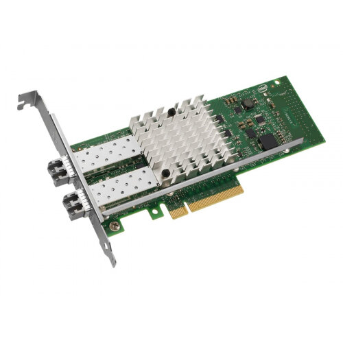 Intel Ethernet Converged Network Adapter X520-SR2 - Network adapter - PCIe 2.0 x8 low profile - 10GBase-SR x 2