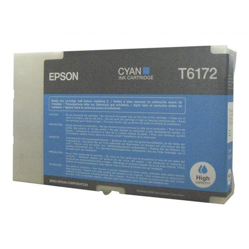 Epson T6172 - High capacity - cyan - original - ink cartridge - for B 500DN, 510DN