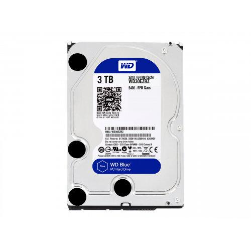 """WD Blue WD30EZRZ - Hard drive - 3 TB - internal - 3.5"""" - SATA 6Gb/s - 5400 rpm - buffer: 64 MB"""