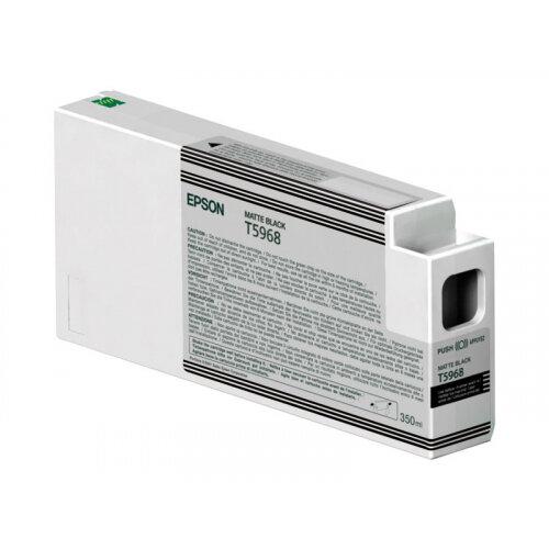 Epson T5968 - 350 ml - matte black - original - ink cartridge - for Stylus Pro 7700, Pro 7890, Pro 7900, Pro 9700, Pro 9890, Pro 9900, Pro WT7900