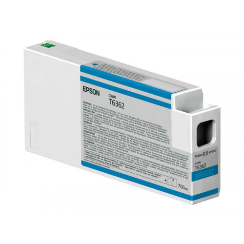 Epson UltraChrome HDR - 700 ml - cyan - original - ink cartridge - for Stylus Pro 7700, Pro 7890, Pro 7900, Pro 9700, Pro 9890, Pro 9900, Pro WT7900
