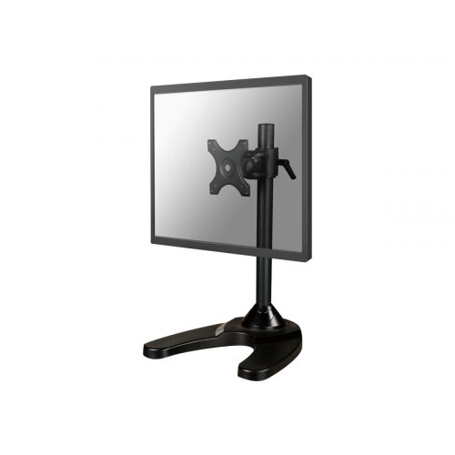 "NewStar Tilt/Turn/Rotate Desk Stand for 10-30"" Monitor Screen, Height Adjustable - Black - Stand for LCD display - black - screen size: 10""-30"" - table-top"