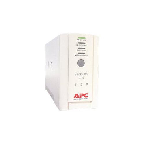 APC Back-UPS CS 650 - UPS - AC 230 V - 400 Watt - 650 VA - RS-232, USB - output connectors: 4 - beige