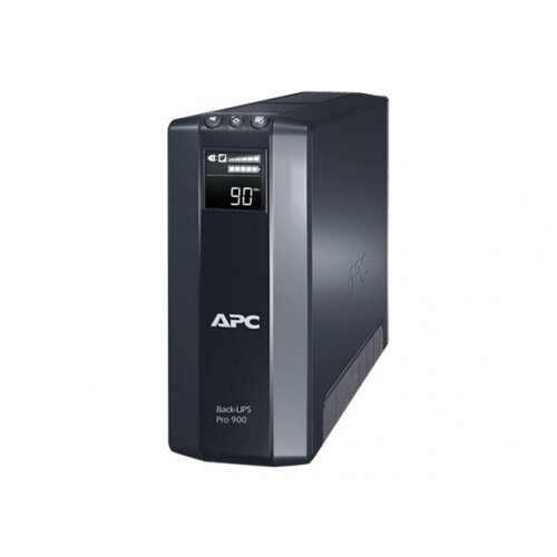 APC Back-UPS Pro 900 - UPS - AC 230 V - 540 Watt - 900 VA - output connectors: 8 - black
