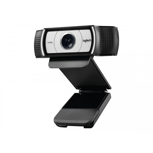 Logitech Webcam C930e - Web camera - Colour - 1920 x 1080 30fps - Audio - USB 2.0 - H.264 4x Digital Zoom