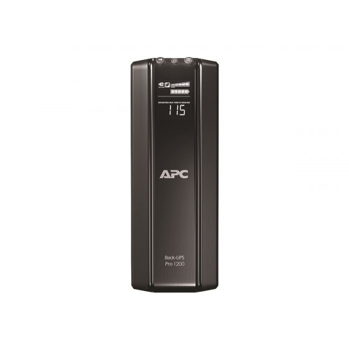 APC Back-UPS Pro 1200 - UPS - AC 230 V - 720 Watt - 1200 VA - USB - output connectors: 10 - black