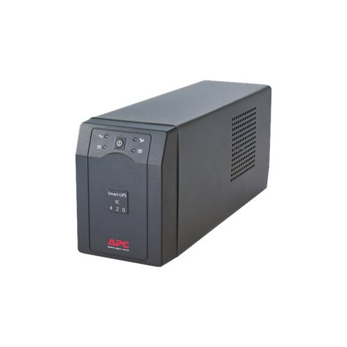 APC Smart-UPS SC 420VA - UPS - AC 230 V - 260 Watt - 420 VA - output connectors: 4 - grey
