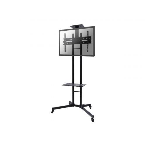 """NewStar Mobile Monitor/TV Floor Stand for 32-55"""" screen, Height Adjustable - Black - Cart for TV / AV System - black - screen size: 32""""-55"""""""