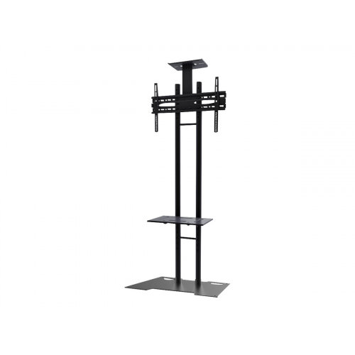"NewStar Monitor/TV Floor Stand for 32-55"" screen, Height Adjustable - Black - Stand for LCD / plasma panel - black - screen size: 32""-55"" - floor-standing"